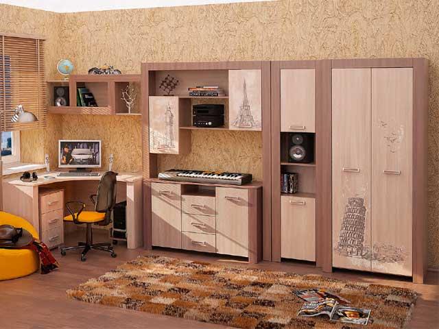 Мебельная фабрика мст (г.ижевск). подростковая мебель город..