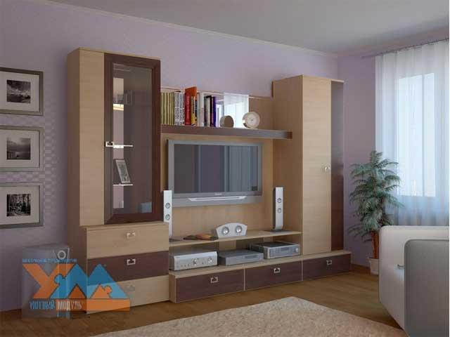 Мебель Для Гостиной Цвет Вишня Москва
